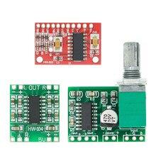 1 pces pam8403 super mini placa de amplificador de potência digital miniatura classe d placa de amplificador de potência 2*3 w alta 2.5-5v usb