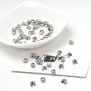 316 из нержавеющей стали ювелирно изготовленные узел крышки 5 мм (0,2 дюймов) бусины для изготовления ювелирных изделий ремесла (50 шт./лот)|Ювелирная фурнитура и компоненты|   | АлиЭкспресс