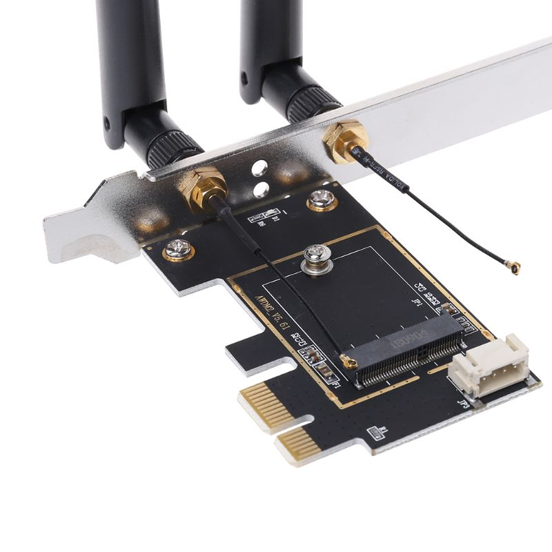 M.2 NGFF To PCI-E Converter Desktop Wireless WiFi Bluetooth Network Card Adapter Board