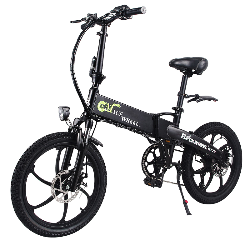 Folding bike Aluminum Electric electric Bicycle 20inch 400W Powerful Mottor 48V10A Battery 32km/h Mountain e bike city/Snow bike 4