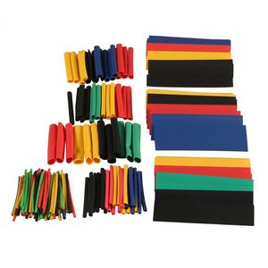 164pcs/Set heat shrink tubing Heatshrink Tube Polyolefin Shrinking Assorted Wire Cable Insulated Sleeving Shrink Tube