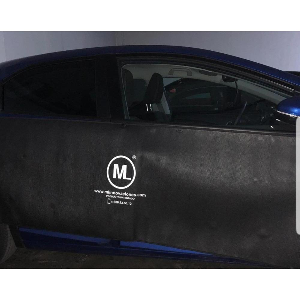 Door Protector for auto cars magnetic magnets removable A1 Thin ML Innovations. Prevents scratches and dents - 4