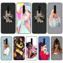 MayDaysmt Pop Girl Bling Cute Phone Case For Redmi S2 5A 5 5Plus 6 6Pro 6A 4X 7 7A Cover