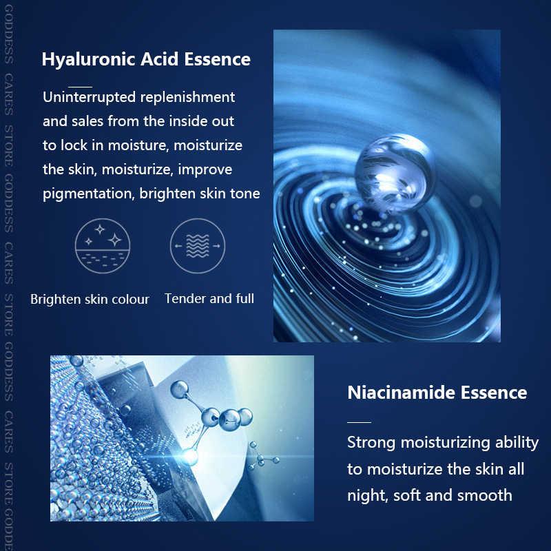 Nicotinamide Mặt Mực Da Se Khít Lỗ Chân Lông Hyaluronic Acid Mặt Tonico 120 Ml Dưỡng Ẩm Làm Trắng Hidratante Chăm Sóc Da Cục Mực D