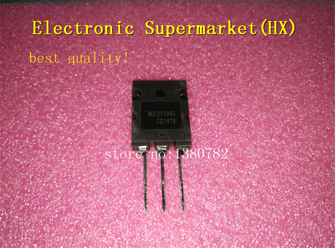 Free Shipping 20pcs/lots MJL21194G MJL21194 21194 TO-3P 16A250V New Original In Stock!