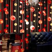 beibehang KTV wallpaper 3d stereo personality fashion flash wall covering bar hotel fancy ballroom box theme room wallpaper