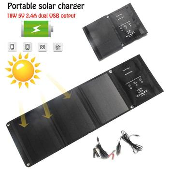Solar Charger Waterproof Travel Tool Phone Accessory Solar Power Bank Solar Panel Durable Monocrystalline Silicon New Energy
