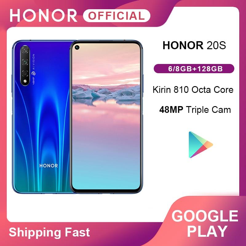 Original Honor 20S 20 S 48MP Rear 32MP Front Camera 6.26