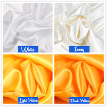 100cm*150cm 16Colors Silks and Satins Fabric Satin Color Butyl Silk Gift Box Lining Lieb
