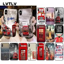 LVTLV london bus england telephone Big Ben Phone Case For iPhone 11 pro XS MAX 8 7 6 6S Plus X 5 5S SE XR case(China)