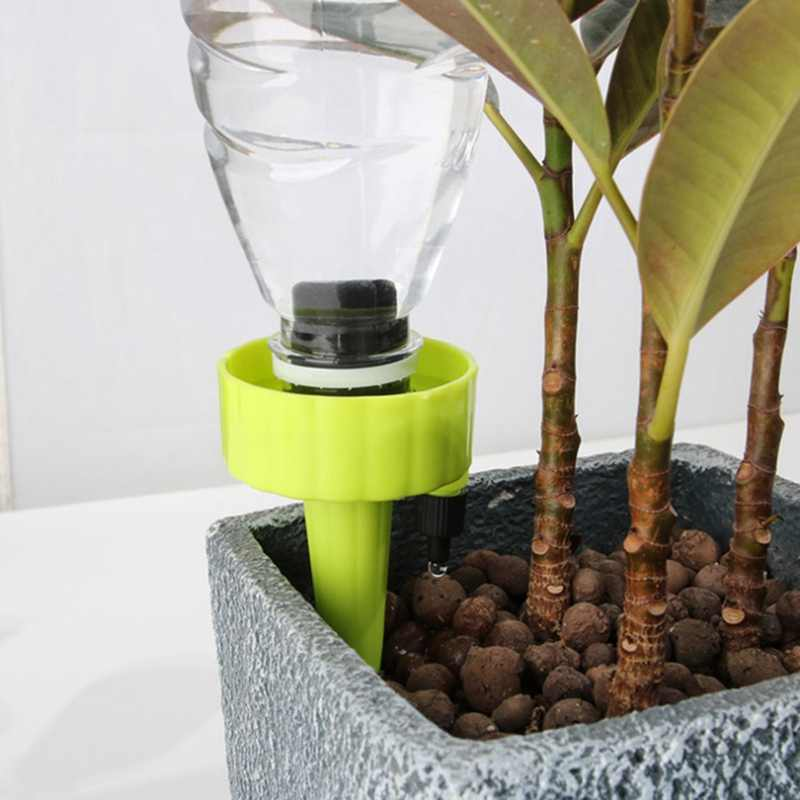 1/6/12 Automatic Self Watering Spikes System Garden Home Plant Pot Water-er Tool Useful Self-Watering Device