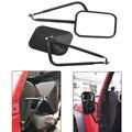 Боковые петли зеркала без двери прямоугольные для Jeep Wrangler JK JL 07-17
