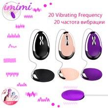 20 Speed Vibrating Eggs Bullet Vibrator Multi-speed USB Charging Vibromasseur Sex Toys for Women Powerful Clitoris Stimulator