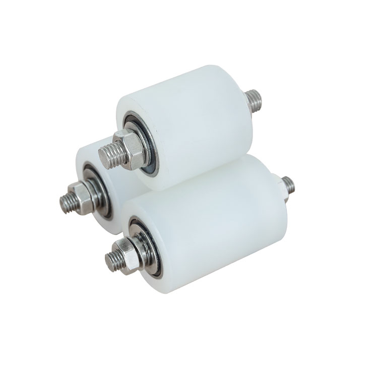 1pc Per Pack Sliding Gate Nylon Top Roller Guide Wheels 304 Stainless Steel Bearings Dual