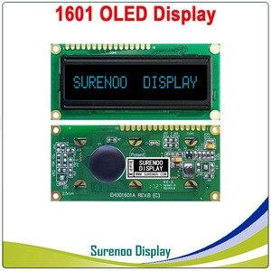 Image 5 - Pantalla OLED Real, pantalla de módulo LCD paralelo de 1601 caracteres LCM, WS0010 incorporado, compatible con Serial SPI