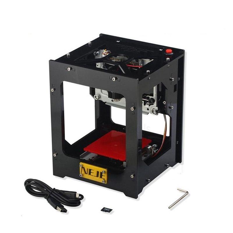 HHO-NEJE 1500mW USB Desktop Mini Laser-engraving Cutting Machine For Mobile Phone Case Carving