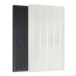 1 zestaw (2 sztuk) oczyszczanie powietrza filtr węgiel aktywny nadaje się do Samsung AX034FPXBWQ/AX034EPXAUW/AX0347HPAWQ/AC405CPAWQ