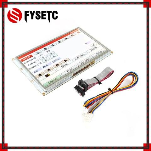 7i integrado paneldue cor controladores de tela