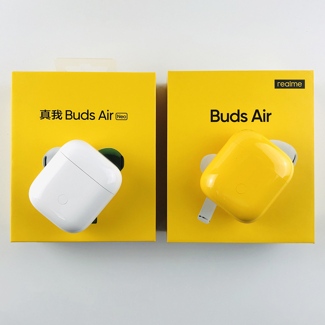 Global Version realme Buds Air Neo TWS Earphone Wireless Bluetooth Earphones R1 Chip For realme 6 Pro 6i X2 Pro X50 Pro 2