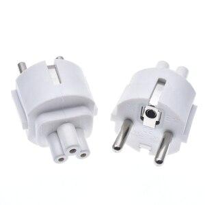 EU plugue do Cabo de Alimentação PLug adapter DA UE para IEC320 CEE7 C5 Leaf Clover plug adapter para carregador portátil, schuko plug para adaptador de mesa