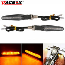 Motorcycle Led Turn Signals Light Flowing Water Blinker Lamp Motorbike Indicator Tail Flasher Motorbike Light Styling possbay chrome black aluminum alloy motorcycle turn signals motorbike flasher indicator lights universal fit for yamaha suzuki