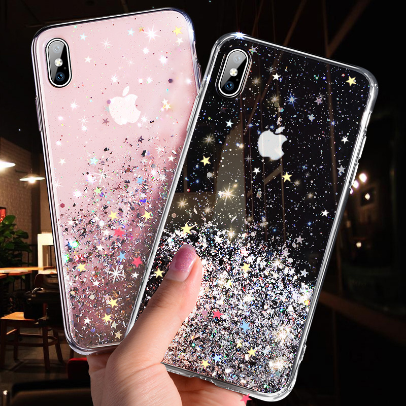 Luxury Glitter Protective iPhone Case Phone Cases Smartphone Accessories iPhone cases, AirPods replacement, Activity trackers, CoolTech Gadgets