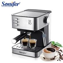 Espresso Elektrische Koffiemachine Koffiezetapparaat Elektrische Hoorn Cappuccino Capuchinator Voor Keuken Huishoudelijke Apparaten Sonifer