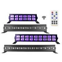 12 LED Disco UV Bar Lichter Party Dj UV Lampe Wand Washer Lichter Für Weihnachten Laser Projektor Bühne-in Bühnen-Lichteffekt aus Licht & Beleuchtung bei