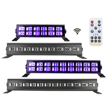 12 LED Disco UV Bar Lights Party Dj Lamp Wall Washer For Christmas Laser Projector Stage