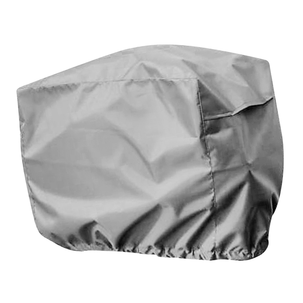 Universal Waterproof Outboard Motor Boat Engine Cover For 2-5 HP Speed / Rib