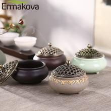 ERMAKOVA керамическая курильница фарфоровая катушка держатель для благовоний для медитации Deworming расслабляющие аксессуары для дома