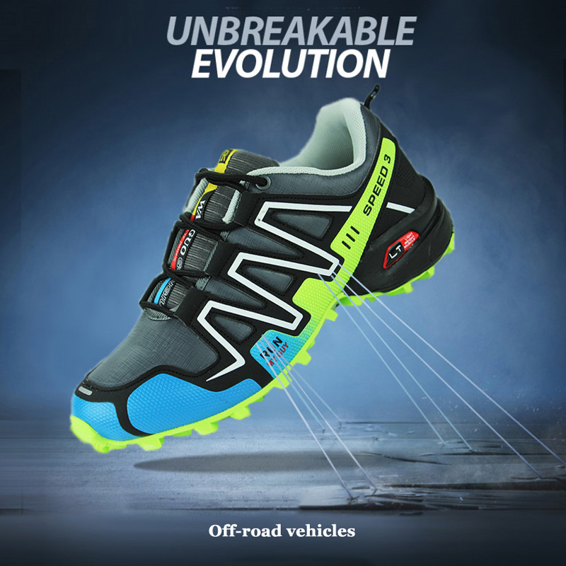 Hiking Shoes Boots Sneakers Men Outdoor Waterproof Speed-3 Breathable Big-Size