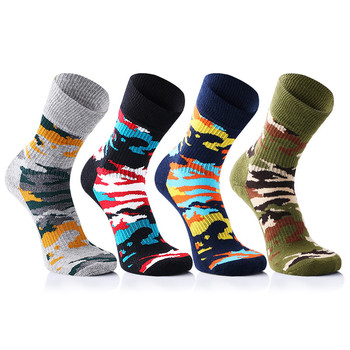 Men's Cotton Stripe Print Business Short Socks Harajuku Hip Hop Streetwear geometric Breathable Cotton Socks Unisex Plus Size фото