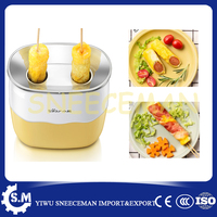 Home fully automatic egg intestine double barrel breakfast machine Double Cylinder Small Egg Cup Omelette Pot