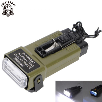цена на FMA Multifunction MS2000 Working Distress Marker Functional Strobe Light Helmet Lights Military Airsoft Camping Survival Sign