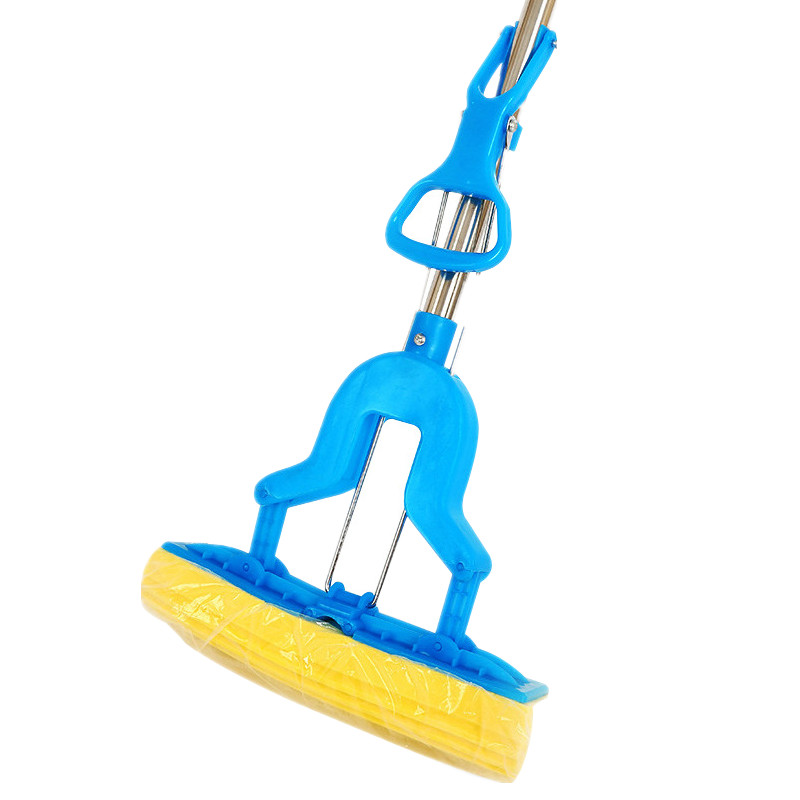 Home Cleaning Sponge Mops Floor Cleaning Mop Folding Absorbing Squeeze Water Magic Mop Ceramic Tile Household Cleaning Tools