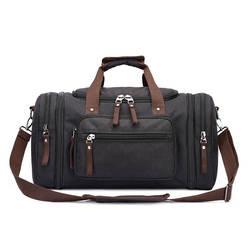 Mu gu дорожная сумка с защитой от проливания Материал открытый Чемодан Холст сумка через плечо большой Ёмкость оптовая продажа женских
