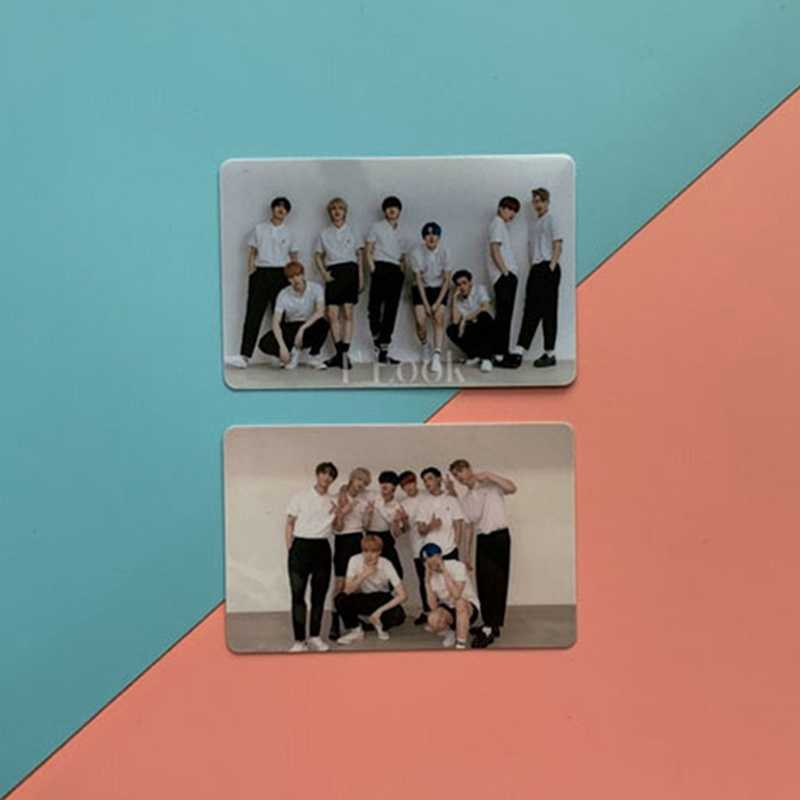 10Pcs set Kpop ATEEZ Card Stickers New Album ZERO FEVER Kpop Ateez Photocard Crystal Sticker Photo.jpg q50