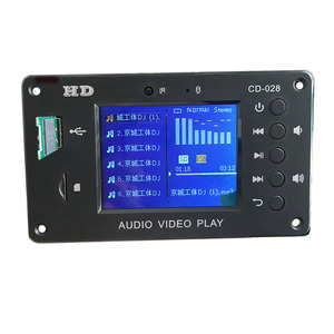 Image 2 - APE Bluetooth LCD MP3 MP4 MP5 Audio Video Module Support Hard Disk Time Display Alarm USB SD FM Radio Flac RMVB Decording Board