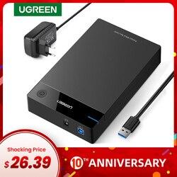 Ugreen HDD 3.5 2.5 SATA Sang USB 3.0 Bên Ngoài Ổ Cứng Đầu Đọc Cho SSD Đĩa HDD Box ốp Lưng HD 3.5 HDD Ốp Lưng