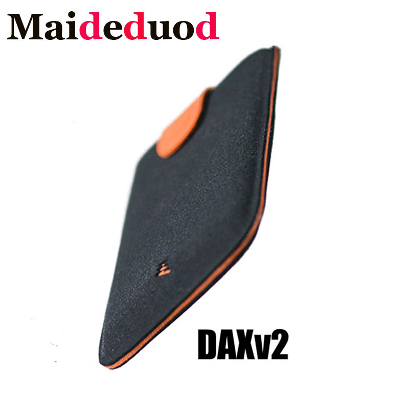 New Arrival DAX V2 Mini Slim Portable Card Holders Pulled Design Men Purse Gradient Color 5 Cards Money Short Women Wallet