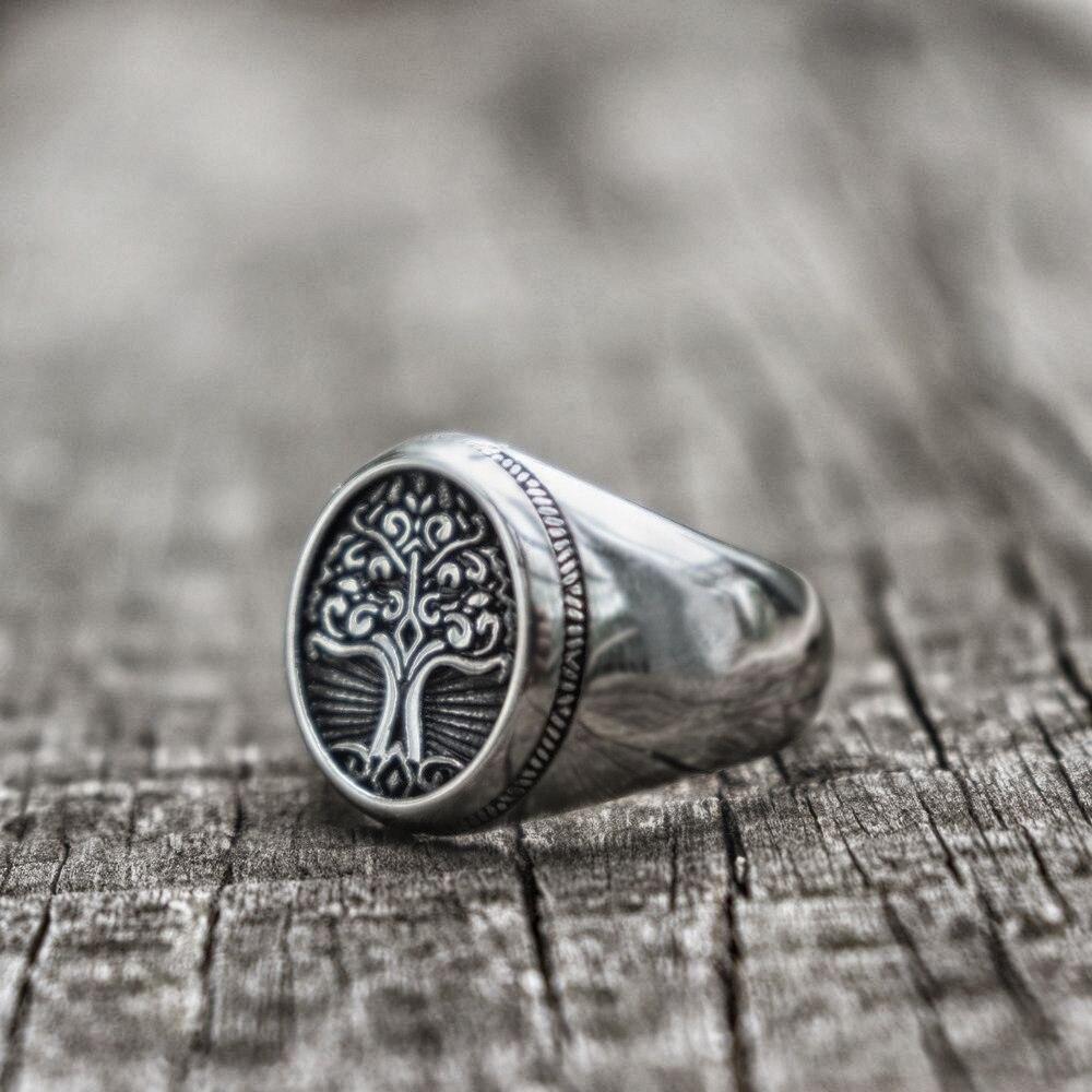 Yggdrasil Signet Ring