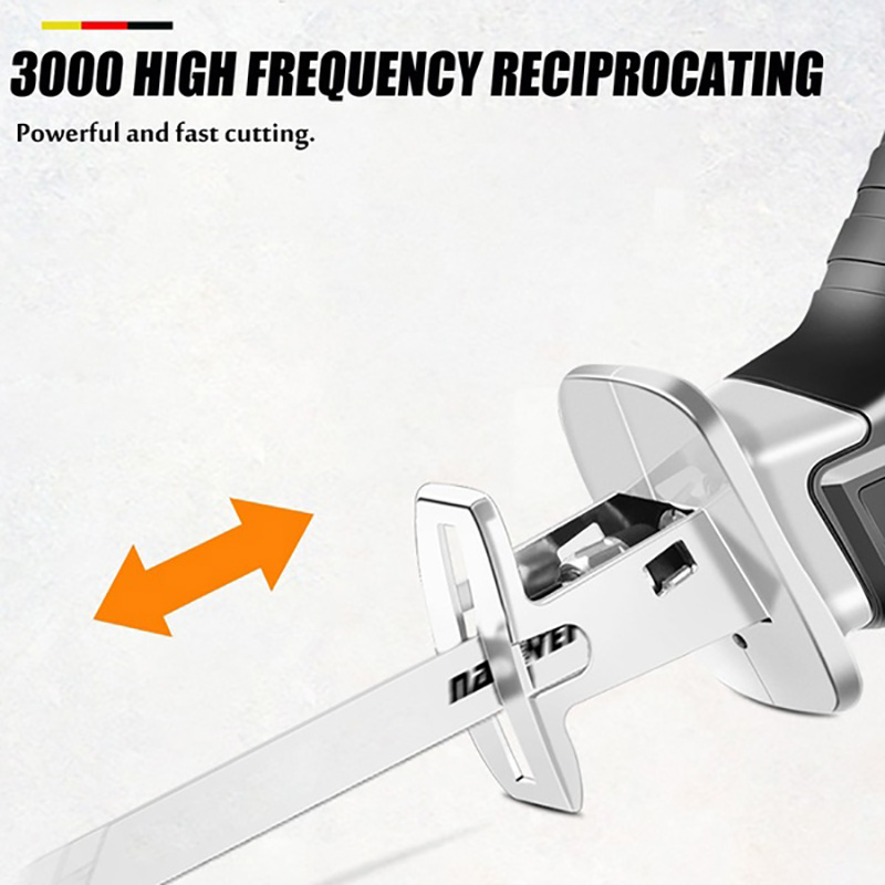 Tools : 18V Cordless Rechargeable Electric Saber Saw Reciprocating Saw Adjustable Speed Electric Saw Saber Saw Portable Power Tools