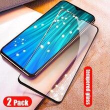 2 חבילה מזג זכוכית עבור Xiaomi Redmi הערה 8 פרו 8T פיצוץ הוכחה מסך מגן שריון סרט עבור xiomi Redmi הערה 8 Note8