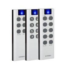 433 Mhz evrensel kablosuz uzaktan kumanda anahtarı 6/8/10 düğme RF verici elektronik kilit kontrol Diy akıllı ev