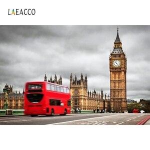 Image 5 - Laeacco grande ben londres fotophone marco fotografia cênica fundos backdrops de viagem foto para photo studio photozone prop