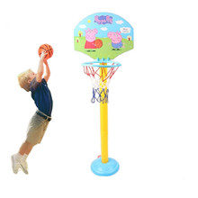 Peppa Pig Little Childrens Indoor Basketball Stand Toys Box Character Action Figure Gifts