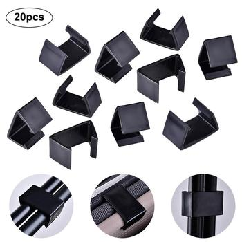 20PCS/Set Patio Furniture Clips Sofa Rattan Furniture Clips Chair Fasteners Outdoor Sectional Sofa Couch Alihnment Connector #CW image
