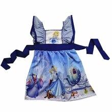 Одежда; платья для девочек; платье принцессы принца и Золушки; новейший модный стиль