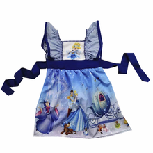 clothing girls dresses prince and Cinderella princess latest hot style